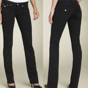 TRUE RELIGION Disco Billy Black Jeans